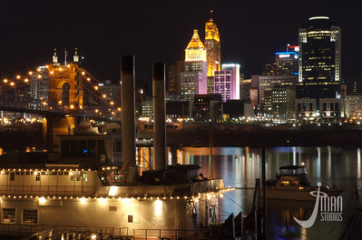 Mike Fink Riverboat - Light Up Cincinnati