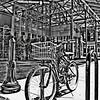 findlay market bike 2_HDR2_BW