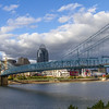 Downtown Cincinnati in late October