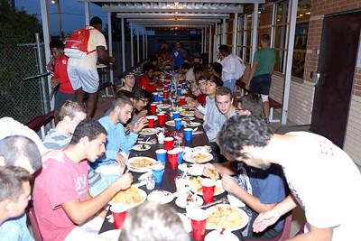Team dinner 11-10-16