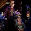 Bass-baritone Ashraf Sewailam is Alidoro and mezzo-soprano Lauren McNeese is Angelina (Cinderella) in San Diego Opera's CINDERELLA. October, 2016. Photo by J. Katarzyna Woronowicz Johnson.