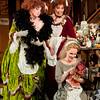 (L-R) Contralto Alissa Anderson is Tisbe, soprano Susannah Biller is Clorinda, and mezzo-soprano Lauren McNeese is Angelina (Cinderella) in San Diego Opera's CINDERELLA. October, 2016. Photo by J. Katarzyna Woronowicz Johnson.