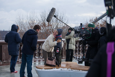 """Съемки х/ф """"Гражданка Катерина""""; реж. Н. Углицких; 2015 г."""