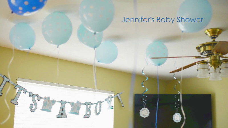 Jennifer's Baby Shower!