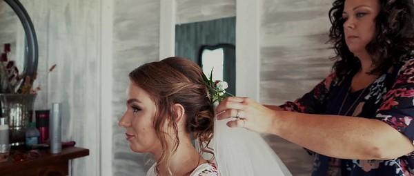 Sydney & Brady's Cinematic Wedding Day Story