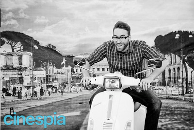 roman holiday photo booth