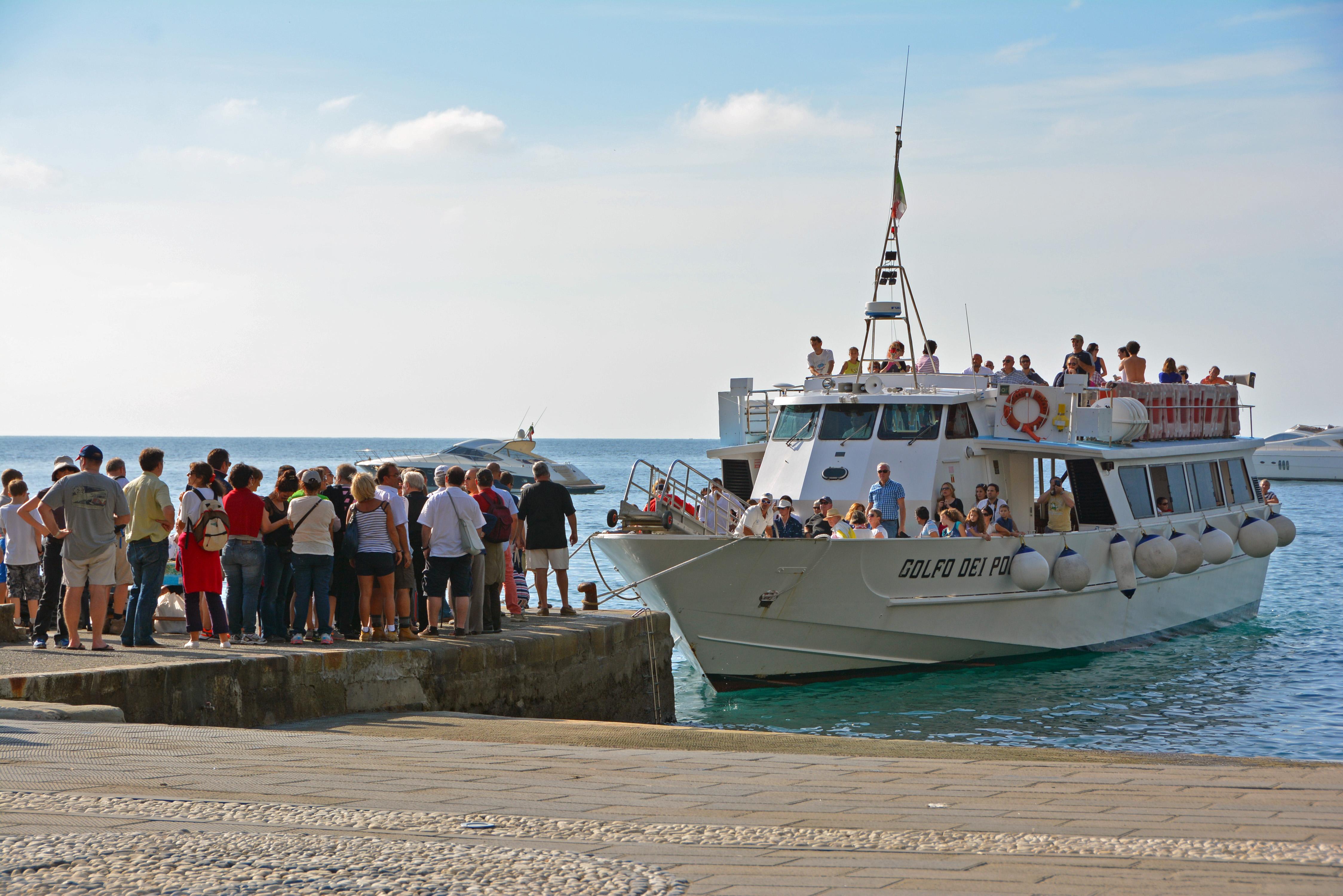Cinque Terre Ferry