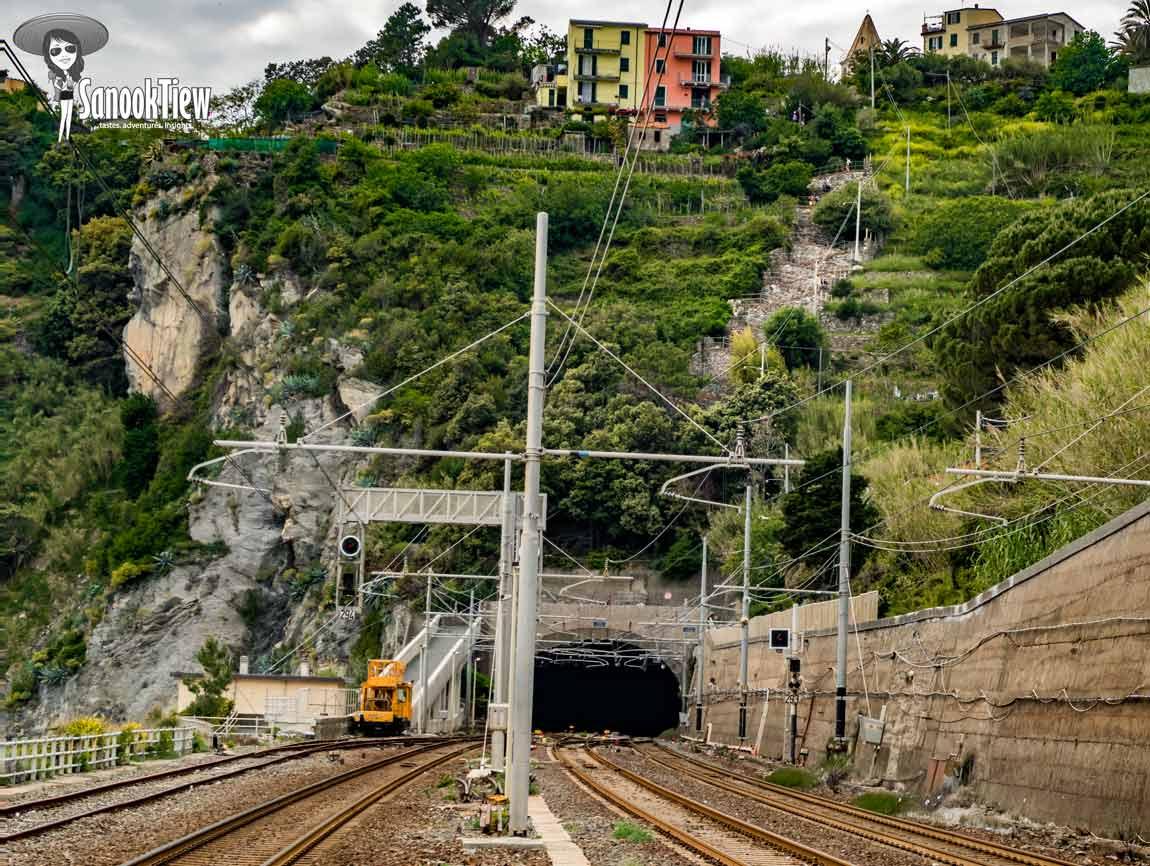 Vernazza ไป Corniglia