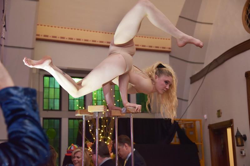 Circus School performer
