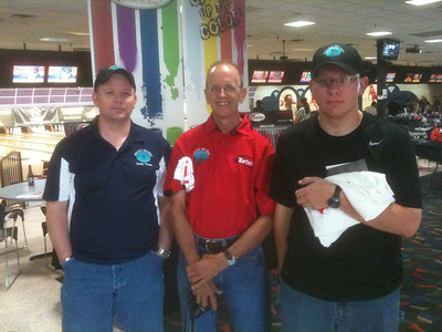 L-R:  Kertis (Circle K), Glenn (Ken-Cliff) & Joey (Circle K)