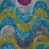 """<a href=""""http://www.saginawstreetquilts.com/store-detail.php?cat=2&ID=3"""">Cosmic Waves</a> - Pattern available at www.saginawstreetquilts.com"""