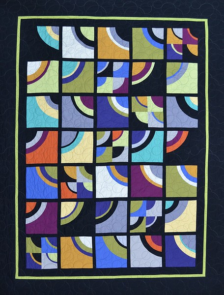 """<a href=""""http://www.saginawstreetquilts.com/store-detail.php?cat=2&ID=16"""">Arc Deco - Pattern available at www.saginawstreetquilts.com</a>"""