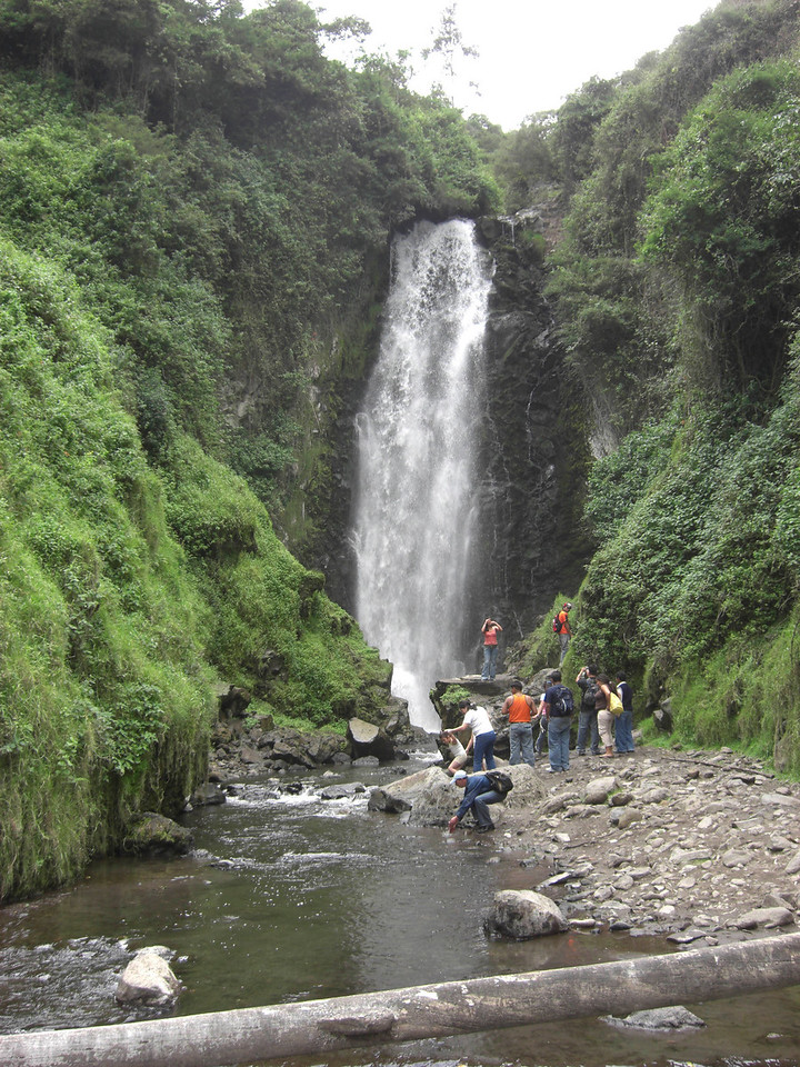 Waterfall outside of town