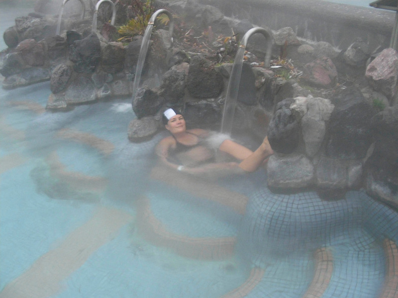 Our first South American hotsprings