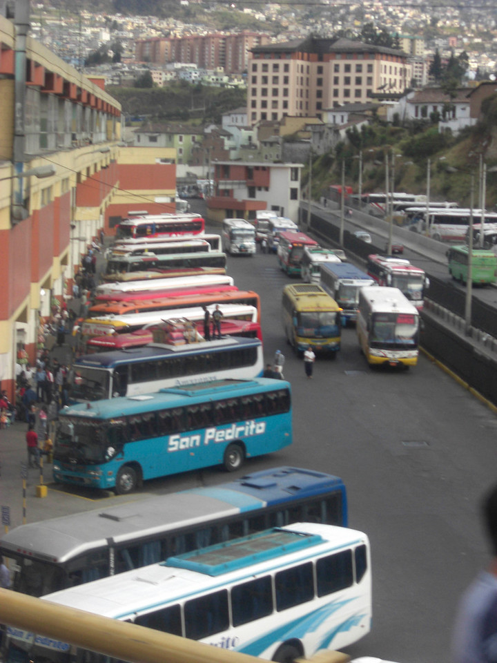 A typical transit hub