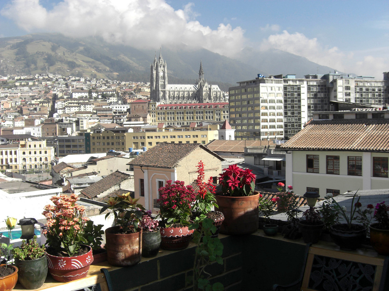 View from Secret Garden's rooftop