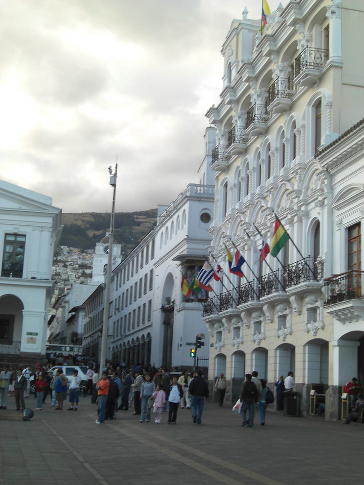 Quito's main plaza