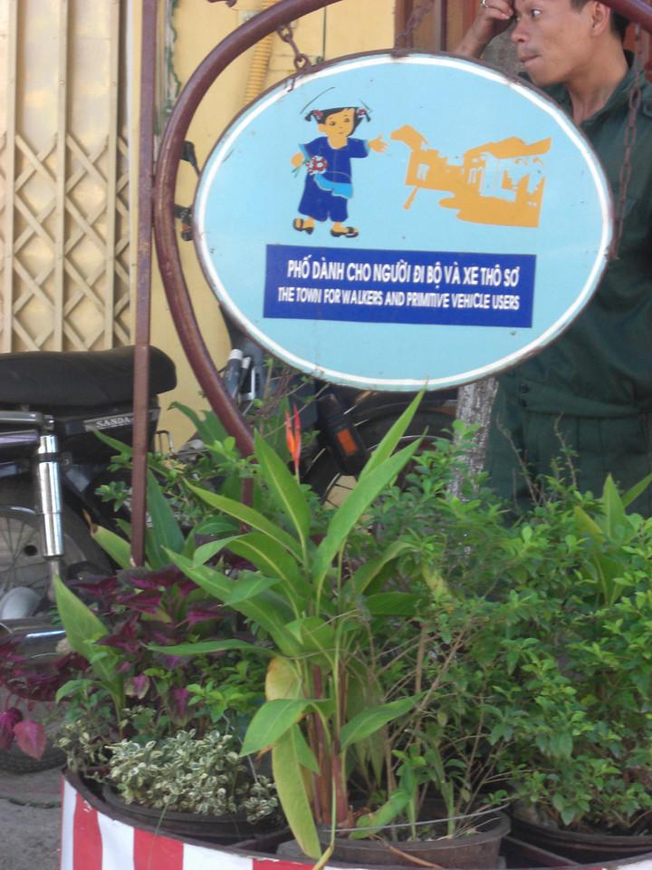 Pedestrians only, Hoi An, Vietnam