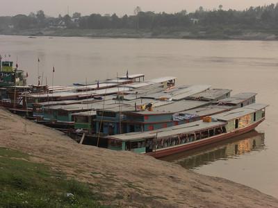 Laos - Mekong Boat Trip