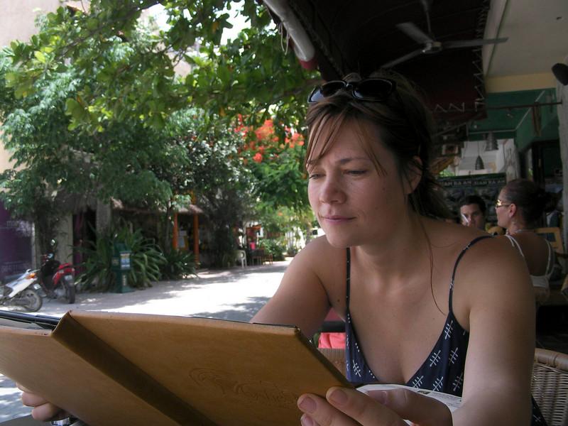 Lunch in Playa de Carmen