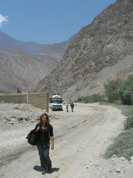 The world's longest and driest bus trip