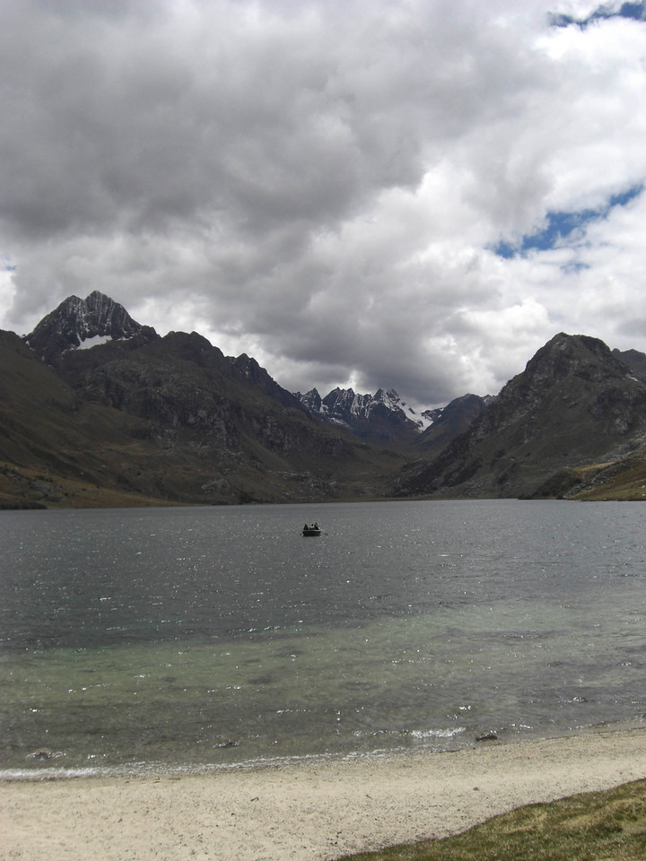 Lagoon in the Andes