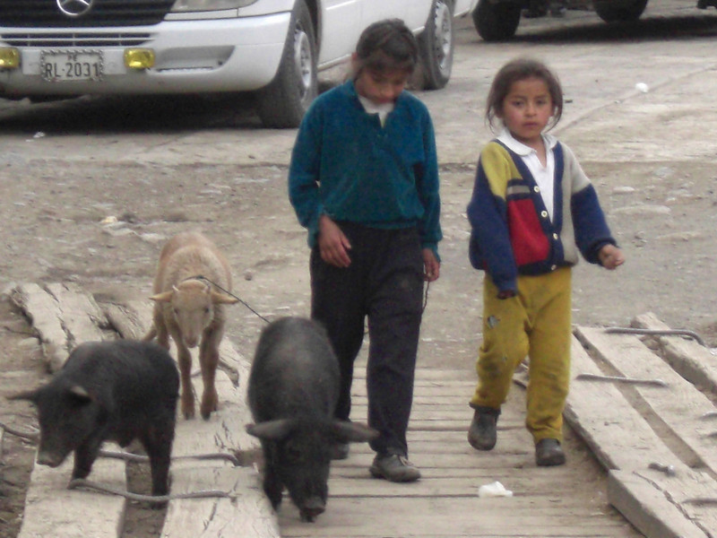 Kids in town