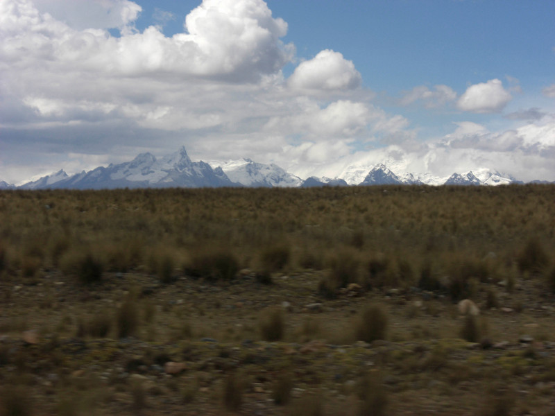 The Blancas, on the trip to Lima from Huaraz