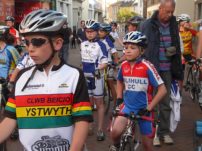 Abergavenny Town Centre races 8th July 2011