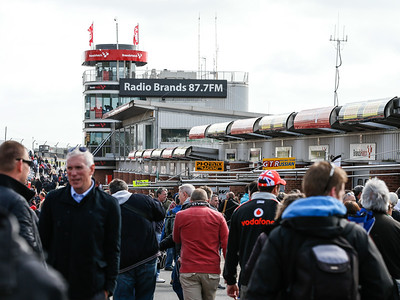 Blancpain GT Series public pit walk