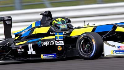 Linus Lundqvist, Euroformula Open, Silverstone Circuit, Silverstone, Northamtonshire,England