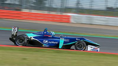 Billy Monger, Euroformula Open, Silverstone Circuit, Silverstone, Northamtonshire,England