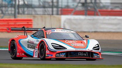#17 Teo Martin Motorsport ESP Andres Saravia GTM Fran Rueda ESP McLaren 720 s GT3 PRO, International GT Open, Silverstone Circuit, Silverstone, Northamtonshire,England