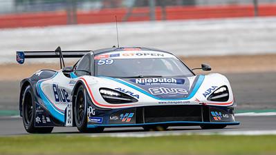 #59 Teo Martin Motorsport ESP Henrique Chaves PRT Martin Kodric HRV McLaren 720 s GT3 PRO, International GT Open, Silverstone Circuit, Silverstone, Northamtonshire,England
