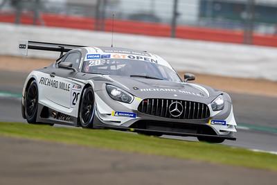 \#20 SPS Automotive Performance DEU Tom Onslow-Cole GBR Valentin Pierburg DEU Mercedes AMG GT3 GT3 PROAM, International GT Open, Silverstone Circuit, Silverstone, Northamtonshire,England