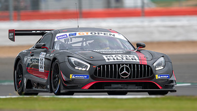 #33 HTP Motorsport / Winward Racing DEU Indy Dontje NLD Russell Ward USA Mercedes AMG GT3 GT3 PROAM , International GT Open, Silverstone Circuit, Silverstone, Northamtonshire,England