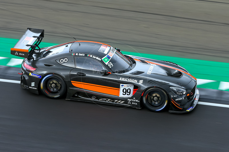 #99 Sports and You PRT Miguel Sardinha PRT Manuel Da Costa PRT Mercedes AMG GT3 GT3 AM, International GT Open, Silverstone Circuit, Silverstone, Northamtonshire,England
