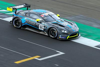 #96 Optimum Motorsport GBR Darren Turner GBR Oliver Wilkinson GBR Aston Martin GT3 AMR MY2019 GT3 PRO, International GT Open, Silverstone Circuit, Silverstone, Northamtonshire,England