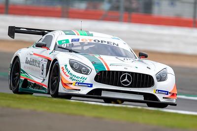#9 Antonelli MotorSport ITA Davide Roda ITA Mercedes AMG GT3 GT3 AM, International GT Open, Silverstone Circuit, Silverstone, Northamtonshire,England