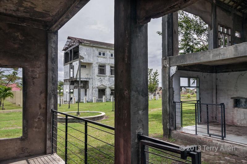 Tsunami-damaged-hospital-buildings,-Banda-Aceh,-Sumatra