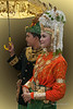 Portrait of a couple in traditional dress, Banda Aceh, Sumatra