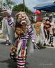 Lion dancer with long nails, Belitung Island, Sumatra