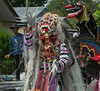 "Street festival with lion dancers, Belitung Island, Sumatra<br /> <br /> Note his long white 'fingernails'.<br /> <br /> Other photos of the colourful lion dancers can be seen here: <a href=""http://goo.gl/nohsXt"">http://goo.gl/nohsXt</a><br /> <br /> 15/04/14  <a href=""http://www.allenfotowild.com"">http://www.allenfotowild.com</a>"