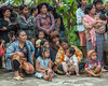 Batak-villagers-watching-dancers,-Lingga-Brastagi,-North-Sumatra