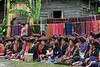 Batak-matrons-waiting-for-festivities-to-begin,-Lingga -Brastagi,-North-Sumatra