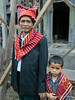 Batak-elder-and-grandson,-Lingga-Brastagi,-North-Sumatra