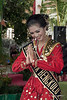 "Beautiful young woman in traditional dress, Bengkulu, Southwest Sumatra<br /> <br /> In Bengkulu, at the house of Indonesia's first president, Sukarno, they put on a show for us that seemed to be part fashion show and part beauty contest....I really didn't understand what was going on, but the young people in their traditional dress were gorgeous to photograph  <br /> <br /> Several of them are featured here: <a href=""http://goo.gl/MZjHQT"">http://goo.gl/MZjHQT</a><br /> <br /> 11/03/14  <a href=""http://www.allenfotowild.com"">http://www.allenfotowild.com</a>"