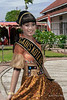 Sumatran beauty in traditional dress, Bengkulu, Southwest Sumatra