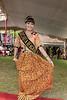 Sumatran beauty demonstrating traditional dress, Bengkulu, Southwest Sumatra