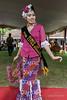 Pretty Sumatran woman modelling traditional dress, Sumatran beauty in traditional dress, Bengkulu, Southwest Sumatra